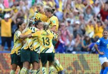 Australia beats brazil Women's World Cup