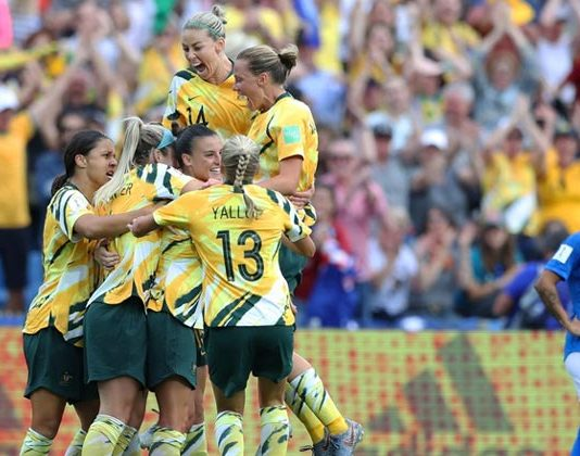 Australia beats brazil Women's World Cup