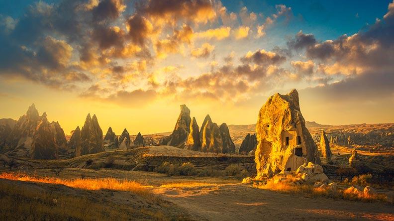Cappadocia region Turkey