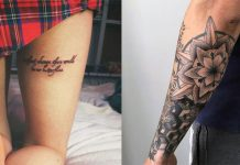 Least Painful Places To Get Tattoos