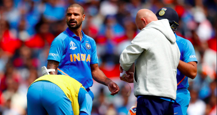 Shikhar Dhawan injury