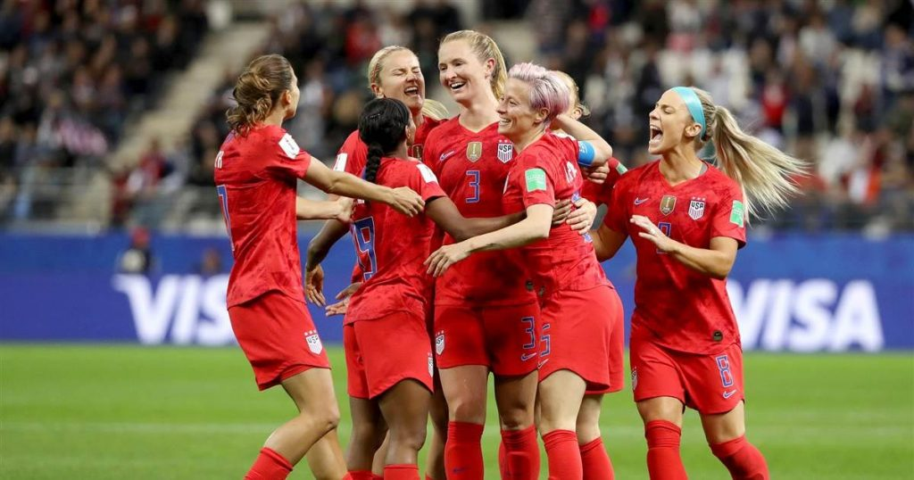USA Thrash Hapless Thailand 13-0 in Women's World Cup