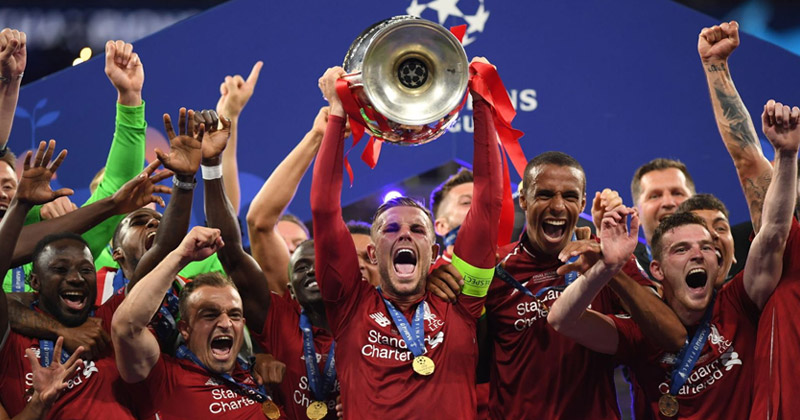 liverpool win champions league final 2019