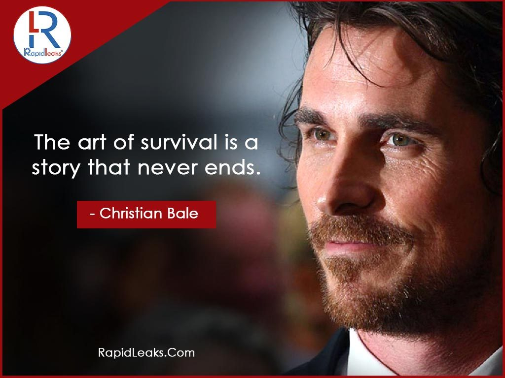 Christian Bale Quotes 1 - RapidLeaks