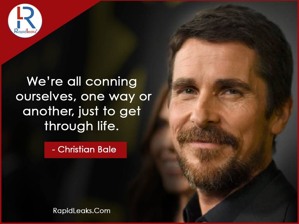 Christian Bale Quotes 7 - RapidLeaks