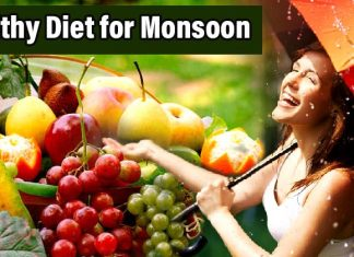 Healthy Diet for Monsoon