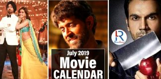 Movies Releasing In July 2019