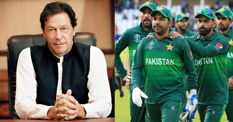 PM Imran Khan offers excitable, optimistic views on Pakistan Cricket team