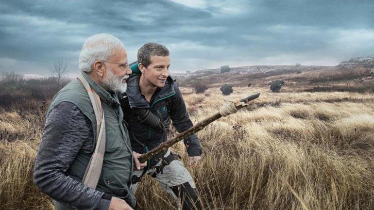 PM Modi and Bear Grylls