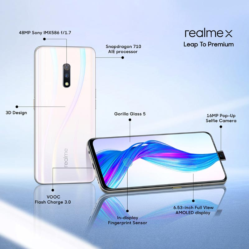Realme X specifications