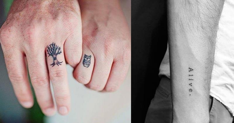 Small Tattoo Ideas For Men