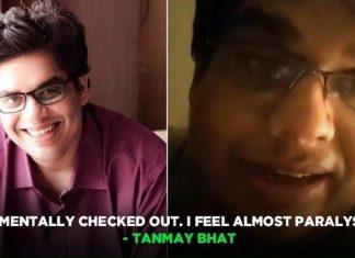 Tanmay Bhatt Depressed