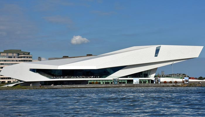 Things to do in amsterdam- eye film institute