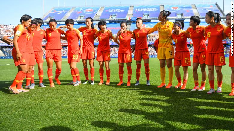 Women's soccer in China