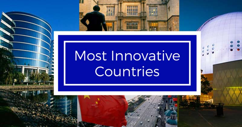most innovative countries in the world