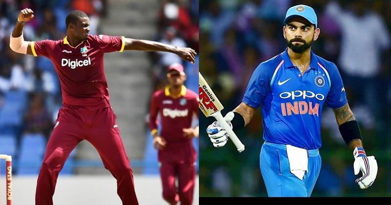 virat kohli vs west indies 2019