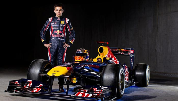 Alex Albon joins Red Bull
