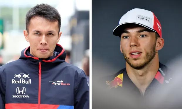 Enter Alex Albon, Exit Pierre Gasly at Red Bull