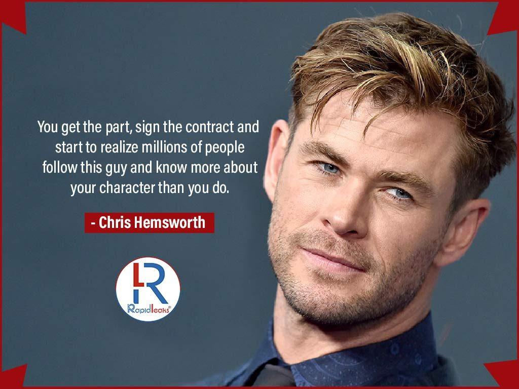 Chris Hemsworth Net Worth 2019 | Chris Hemsworth: Annual ...