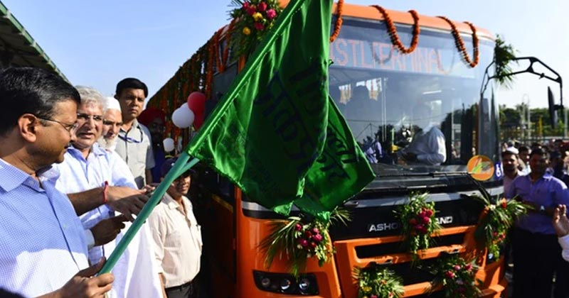 Delhi Gets New Buses On The Roads After A Gap Of 8 Years