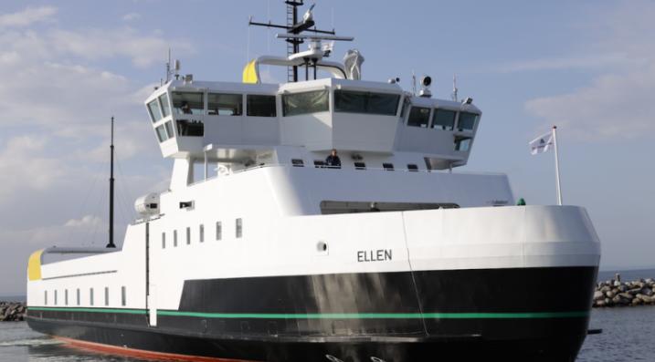 electric ferry in Denmark