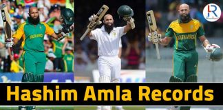 Hashim Amla Records