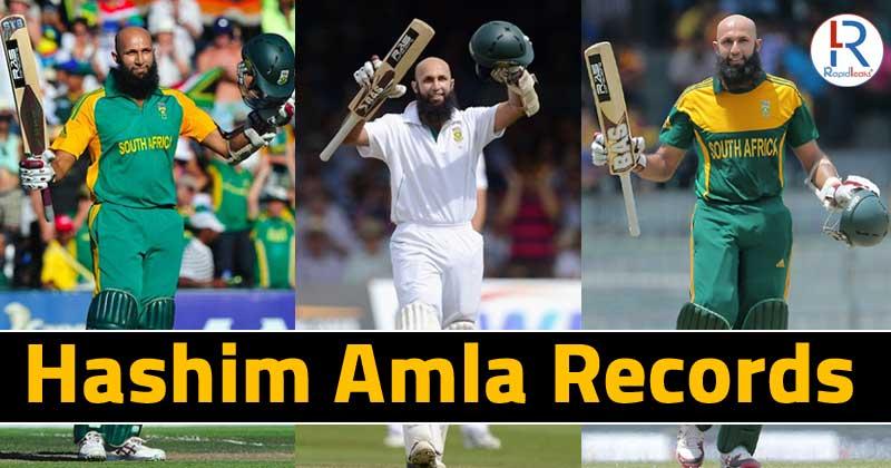 Hashim Amla Records