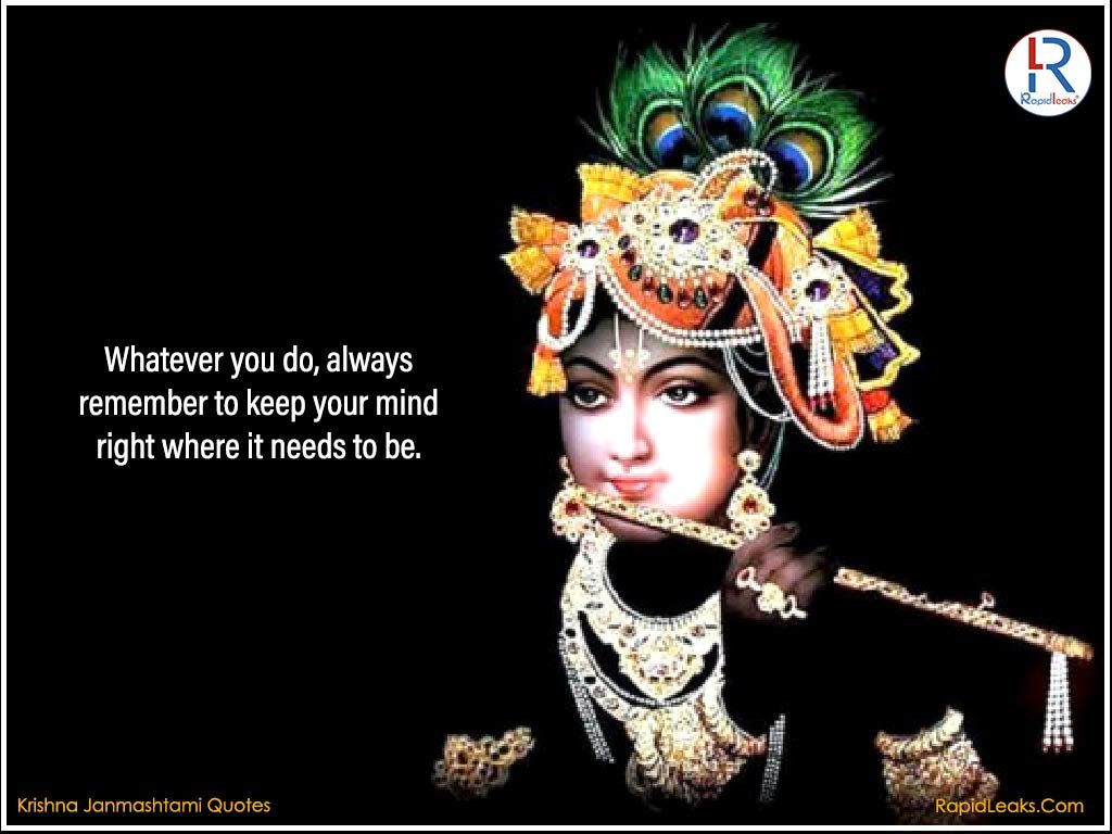 Krishna Janmashtami Quotes 1 RapidLeaks