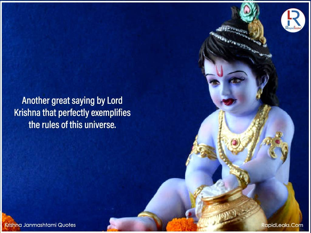 Krishna Janmashtami Quotes 2 RapidLeaks