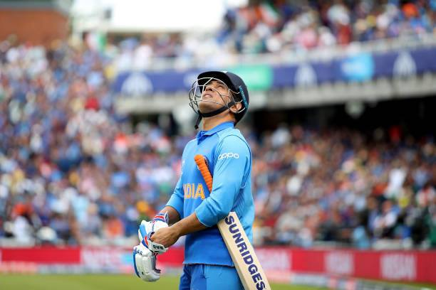 MS Dhoni Sad