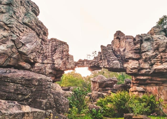 Natural Arch - Tirumala Hills, Chittoor