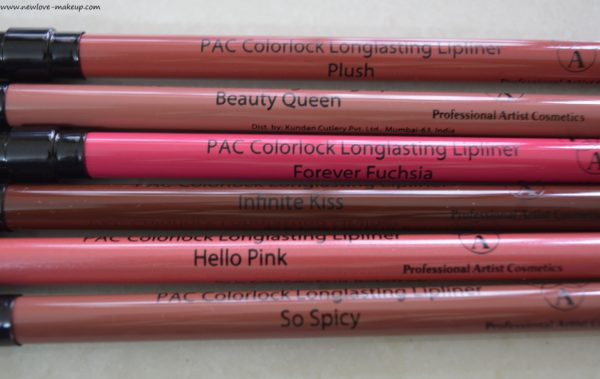 PAC Lip Liners