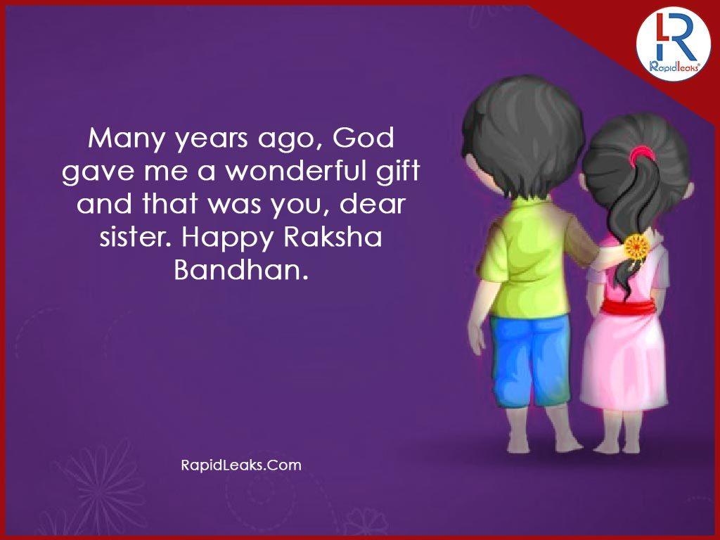 Raksha Bandhan Quotes For Sisters