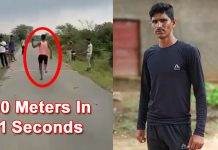 Rameshwar Gurjar, An MP Man Runs 100 Meters In 11 Seconds
