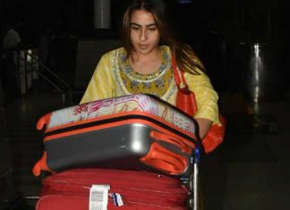 Sara Ali Khan at the Mumbai airport