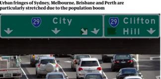 Australia's infrastructure