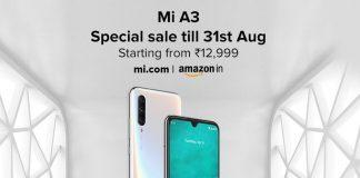 Xiaomi Mi A3 Sale
