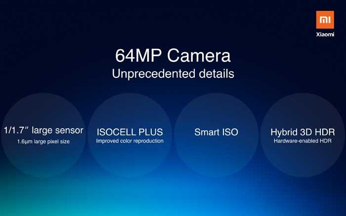 Xiaomi to launch a 64MP camera smartphone