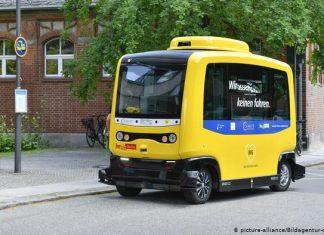 driverless buses in Berlin
