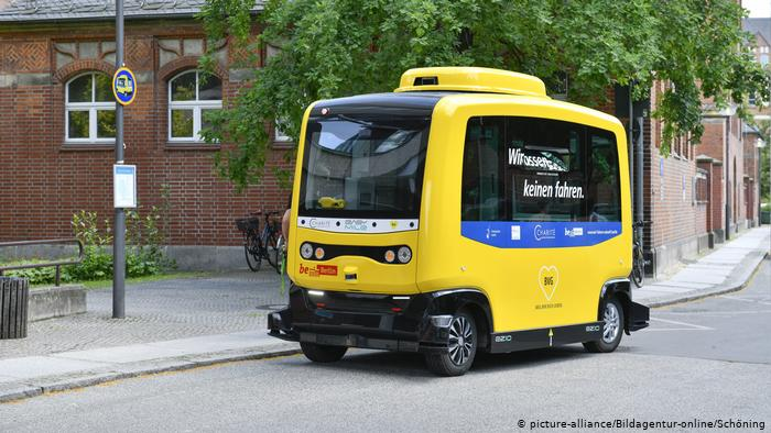 driverless buses in Berlin