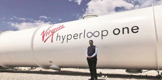 Pune Mumbai hyperloop