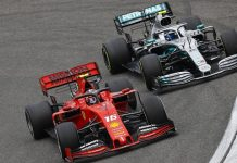 ferrari vs mercedes 2019