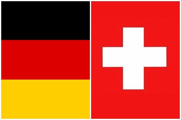 impact of economic downturn in Germany on Switzerland