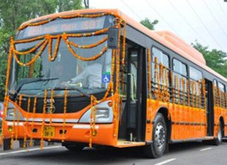 new buses on Delhi's roads