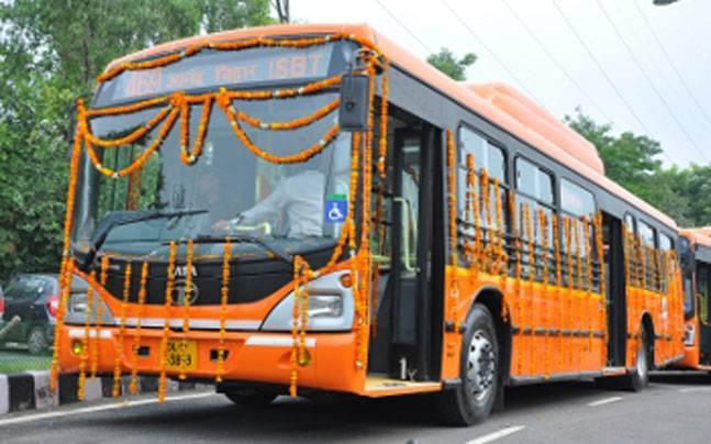 new buses on Delhi's roads