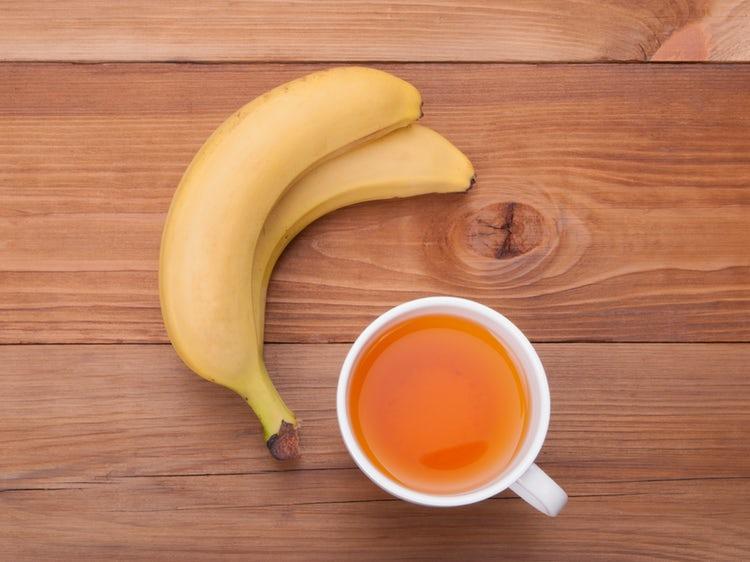 what is banana tea