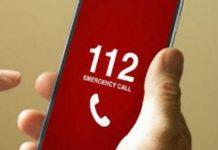 112 hotline number