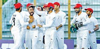 Afghanistan vs Bangladesh Test Rashid Khan