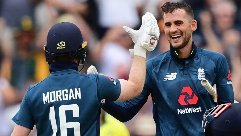 England reaching the highest ever ODI score under Morgan's captaincy