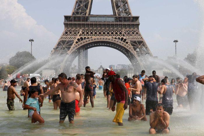 France summer heatwave